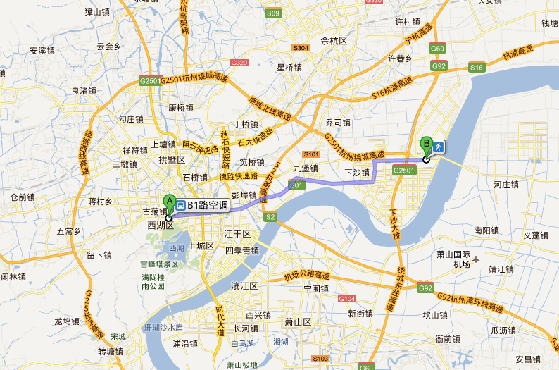 杭州公交B1线4G网络体验