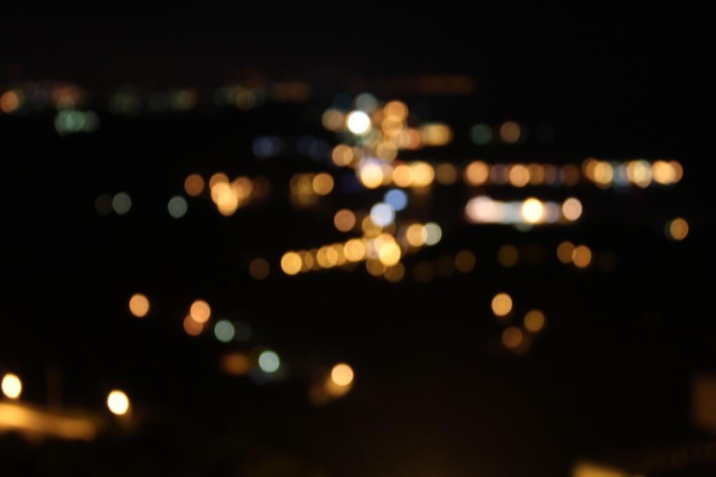 九份夜景俯瞰