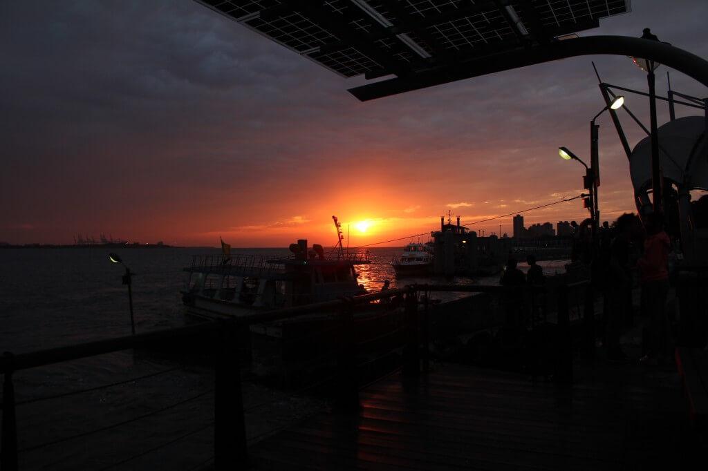 渔人码头夕阳
