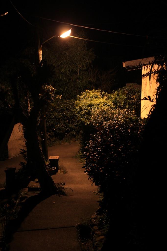 九份山街夜景