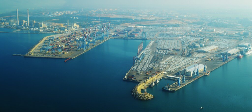 Ashdod Port from WikiAir