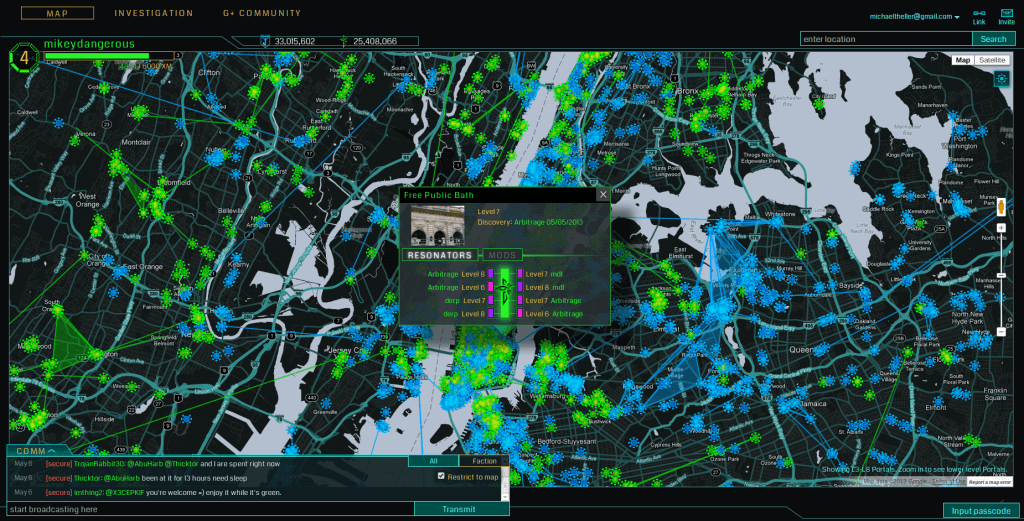 Interface of Ingress