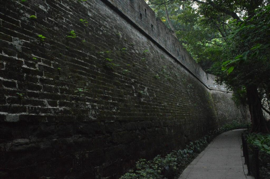 广州老城墙