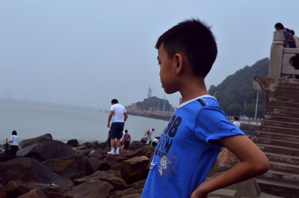 海边的小孩