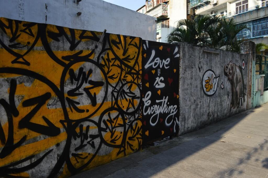 澳门街头涂鸦