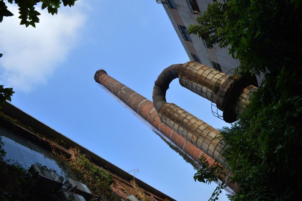 红专厂烟囱