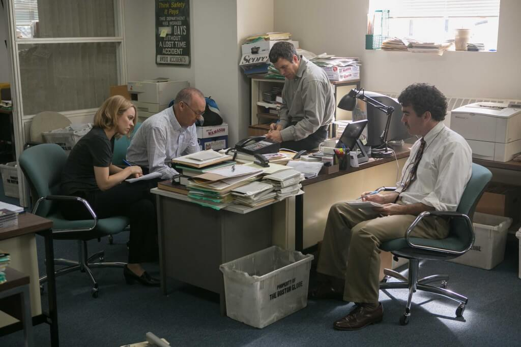 a still from Spotlight