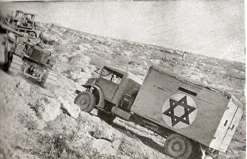 a truck of Israel