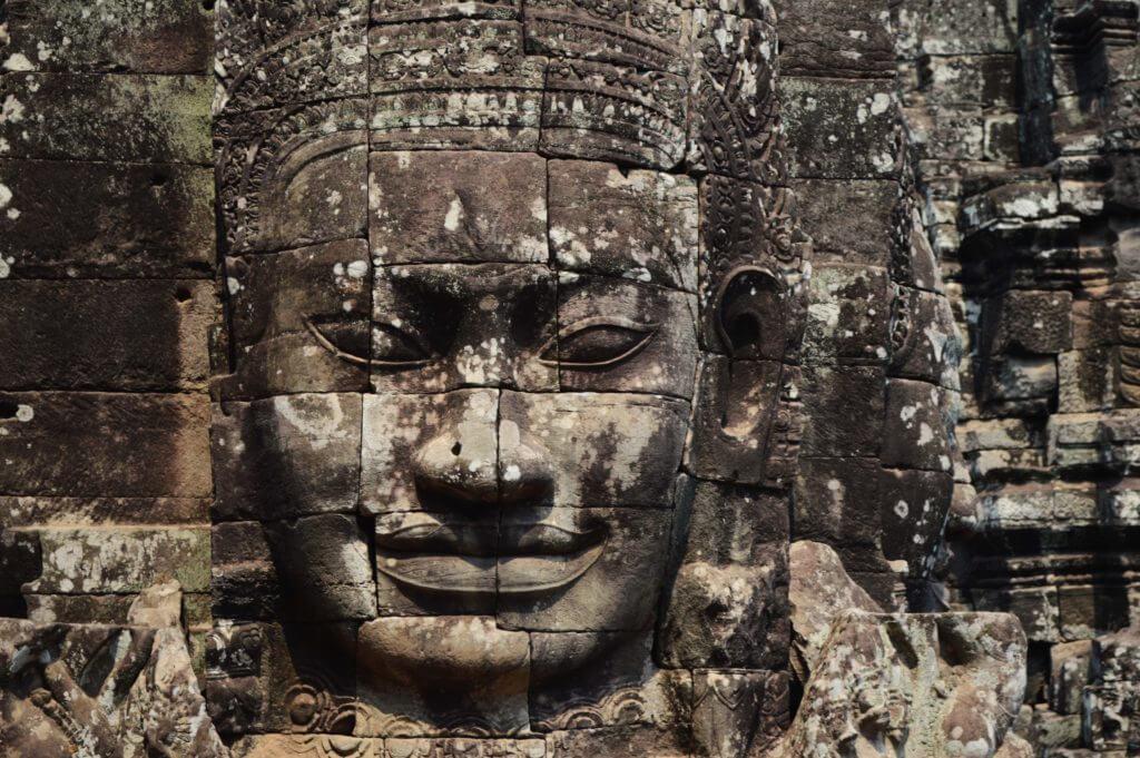 巴戎寺佛像