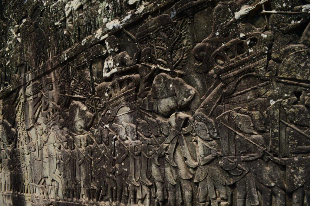 巴戎寺浮雕